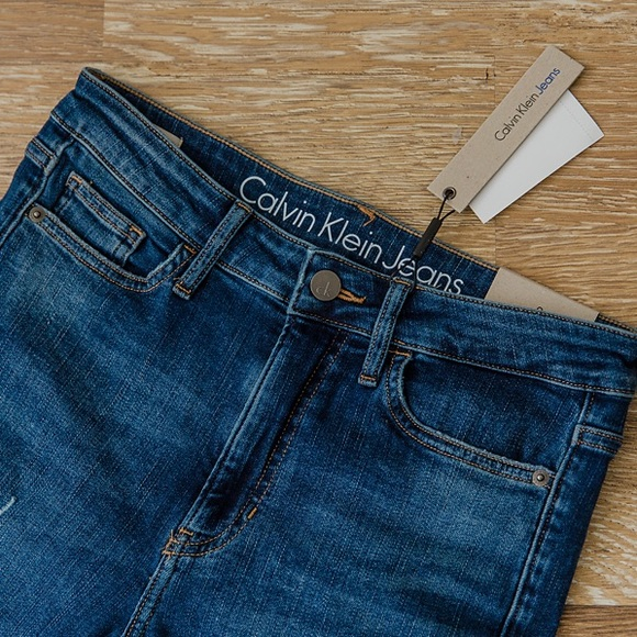 7059341f99946 Calvin Klein Jeans Jeans | Calvin Klein High Rise Ankle Skinny ...